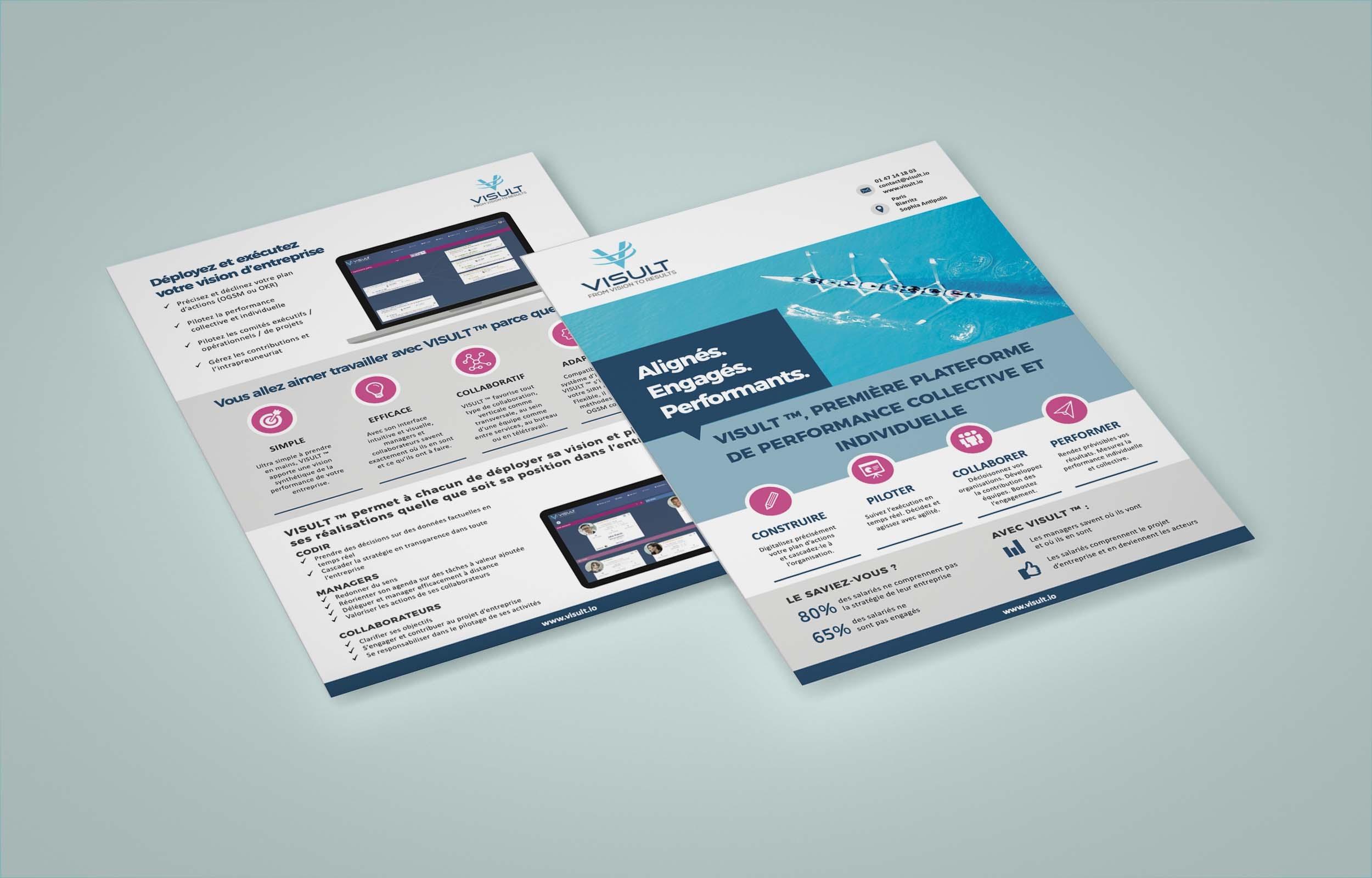 Brochure Visult Management par Objectifs