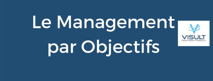 Haut de l'infographie sur le management par objectif
